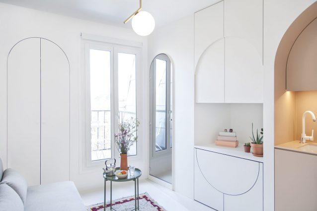 Parigi una micro casa da metri quadrati