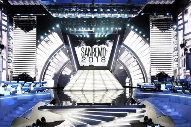 Sanremo 2018: tutti i segreti della scenografia del 68° Festival
