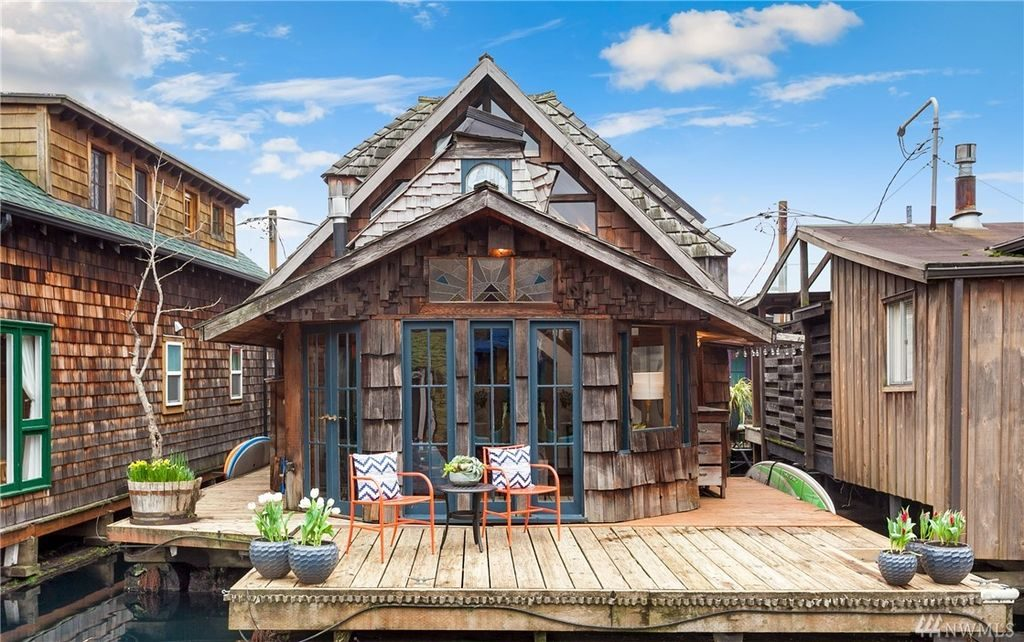 seattle la casa galleggiante che sembra uscita da una fiaba
