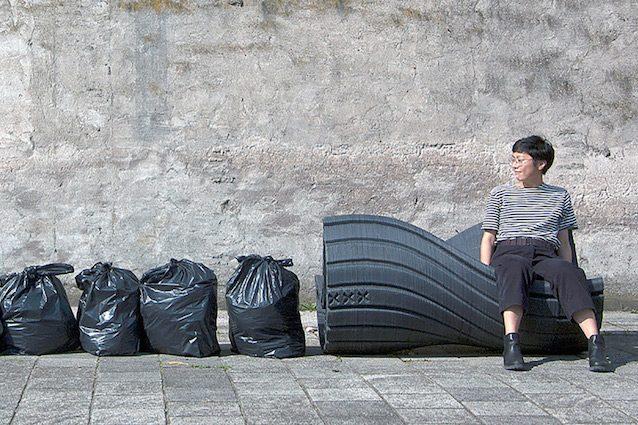 Arredi Urbani In Plastica Riciclata.Print Your City I Sacchetti Di Plastica Diventano Arredi Urbani