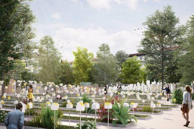Fuorisalone l orto botanico di milano diventa una green city