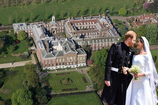 Ecco dove vivono harry e meghan for Interno kensington palace