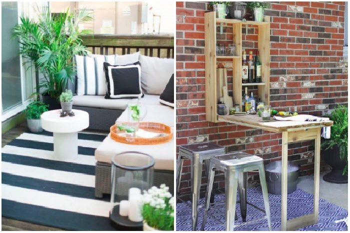 Le idee creative per arredare un balcone - Arredare casa in modo economico ...