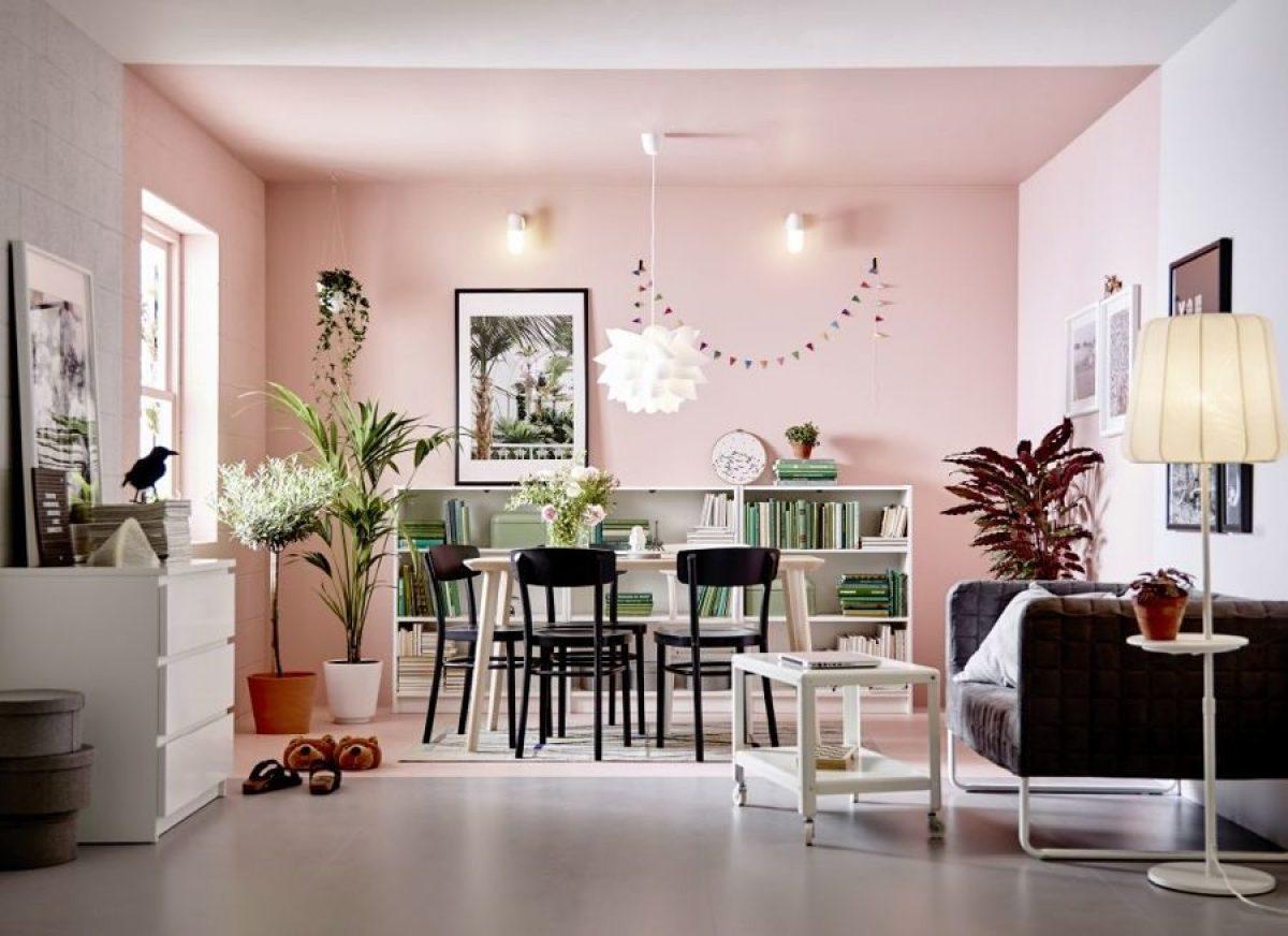 Pareti Rosa Salmone : Cromoterapia per la casa: come scegliere i colori per le pareti