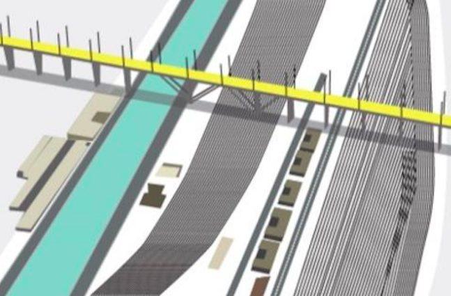 Le immagini del nuovo ponte di renzo piano per genova for Apri le foto del piano
