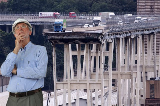 Crollo ponte genova renzo piano aiuter a ricostruire for Progetti di renzo piano
