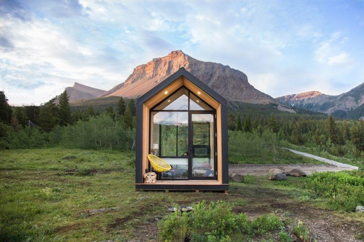 Tiny House Italia Permessi mono, la casa da 24.000 euro che può stare ovunque senza