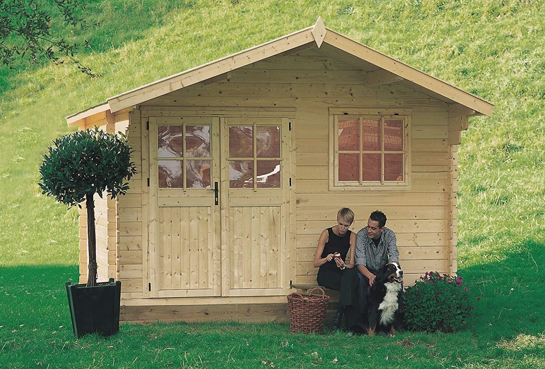 Casette di legno in giardino le migliori da comprare online for Arredo giardino in legno