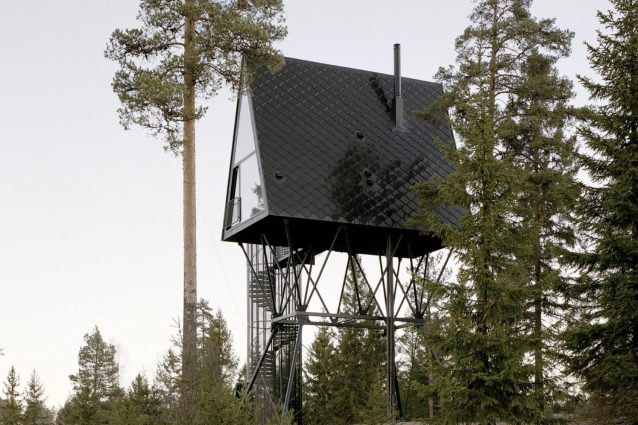 Pan TreeTop Cabins, i rifugi naturali perfetti nella foresta