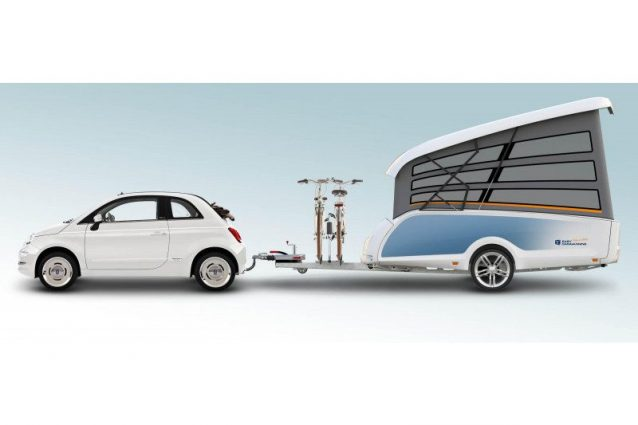 TakeOff, il camper pop up che si installa in meno di un minu