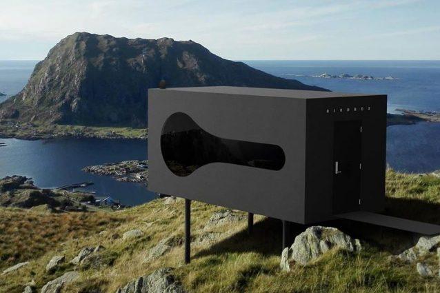 Birdbox, il rifugio con vista sui fiordi e le montagne selva