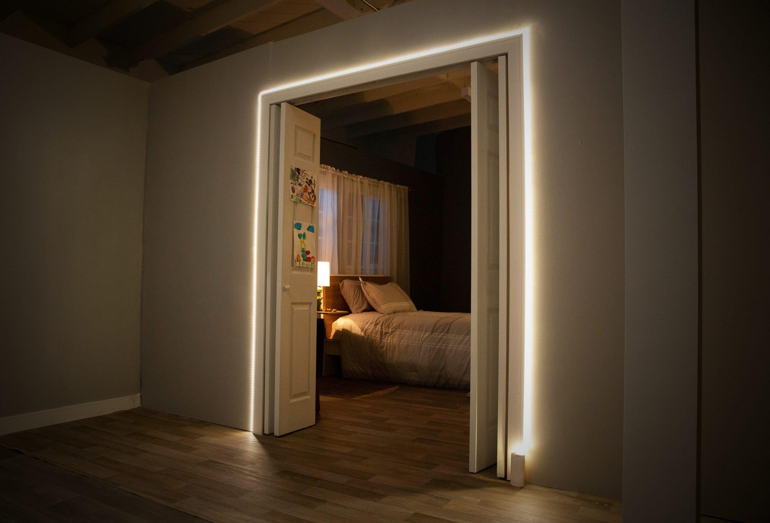 Lampadario Con Strisce Led luminoox, la striscia di led che sostituisce lampade e lampadari