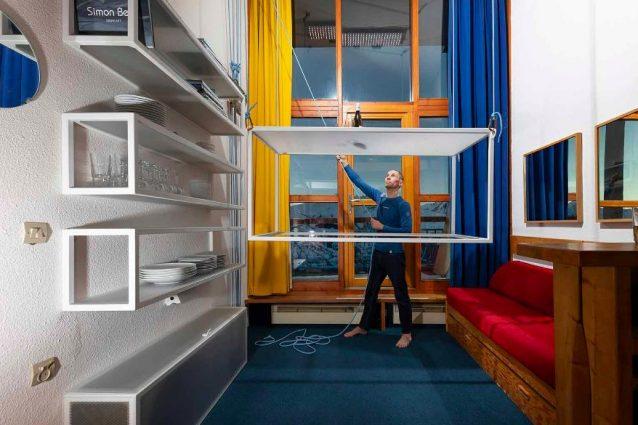 Les Arcs di Charlotte Perriand si trasforma con i mobili sal