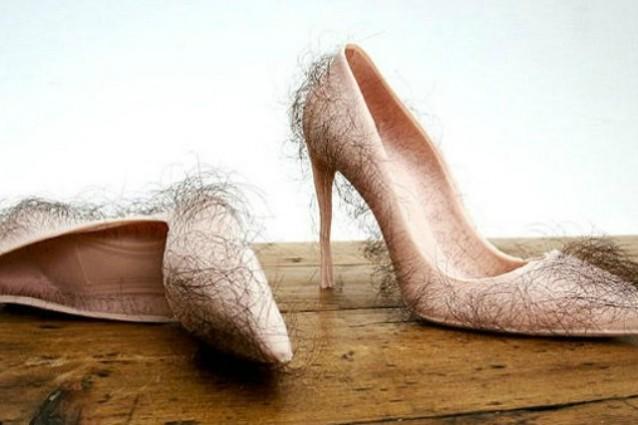 Scarpe fatte con peli umani: moda o provocazione? (FOTO)