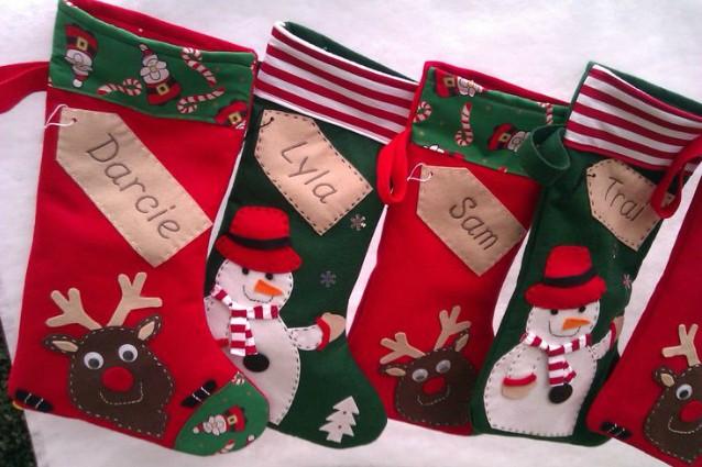 realizzare una calza della befana fatta in casa (foto) - Calze Della Befana Originali