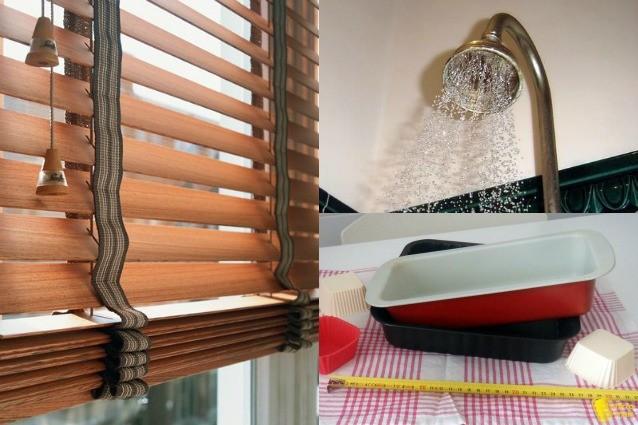 Doccia, persiane e teglie: ecco come lavarle nel modo corretto