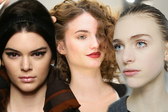 Tendenze beauty dalla Milano Fashion Week: rossetto rosso, eye liner e nude look  (FOTO)