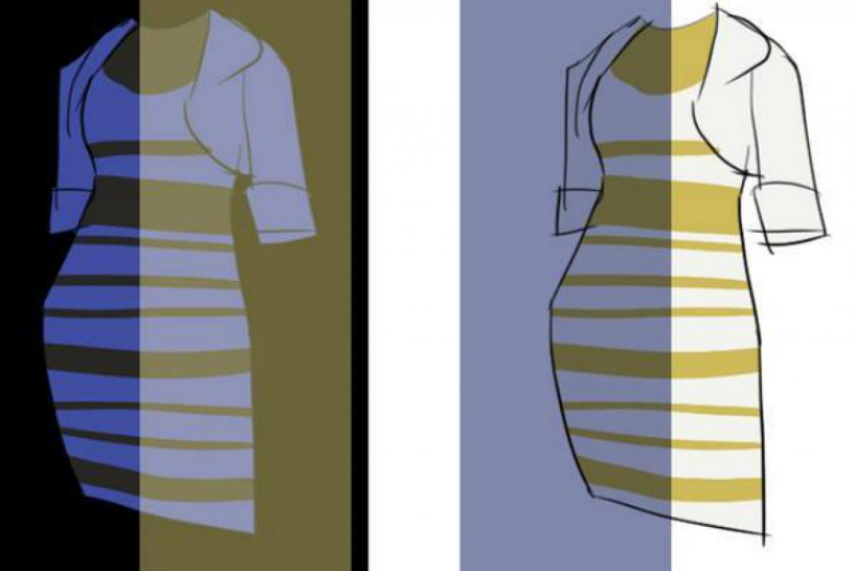 separation shoes 3f2b1 a74de Di che colore è il vestito? L'interrogativo che sta facendo ...