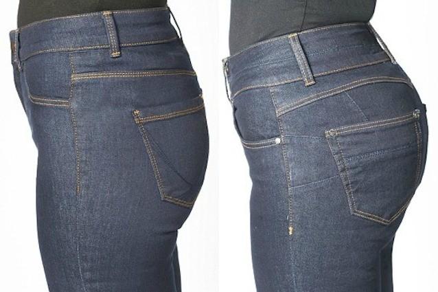 Sedere Piatto Arriva Il Jeans Per Avere Un Lato B Perfetto