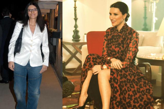 Dai jeans agli abiti da diva: l'evoluzione dello stile di Laura Pausini (FOTO)