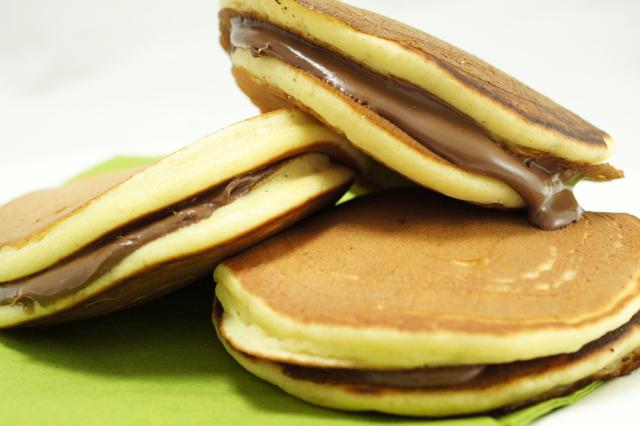Mini dorayaki alla nutella la ricetta sfiziosa