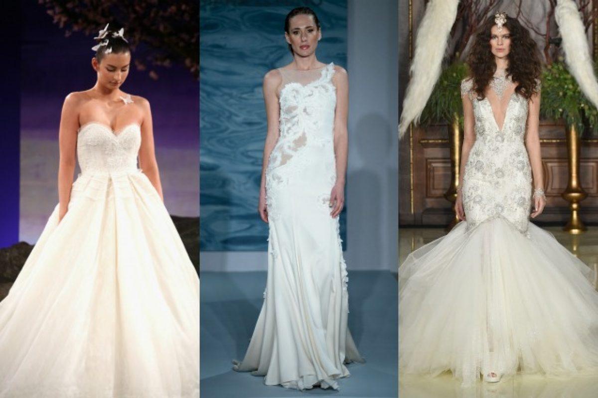 1c4b58a8c90b Scegli l'abito da sposa giusto per te in base alla forma del tuo corpo  (FOTO)