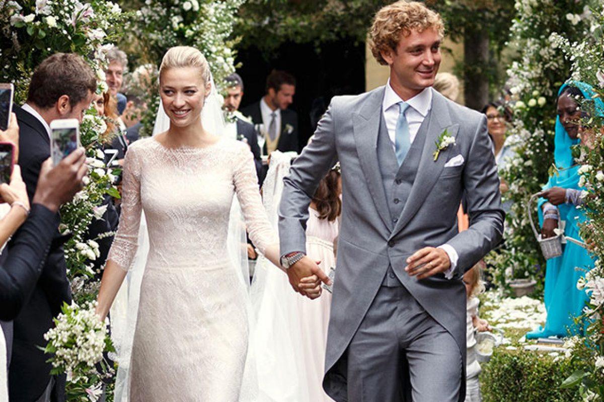 Beatrice Borromeo sposa record  4 vestiti per 1 matrimonio (VIDEO) 2e1b4dfedf9