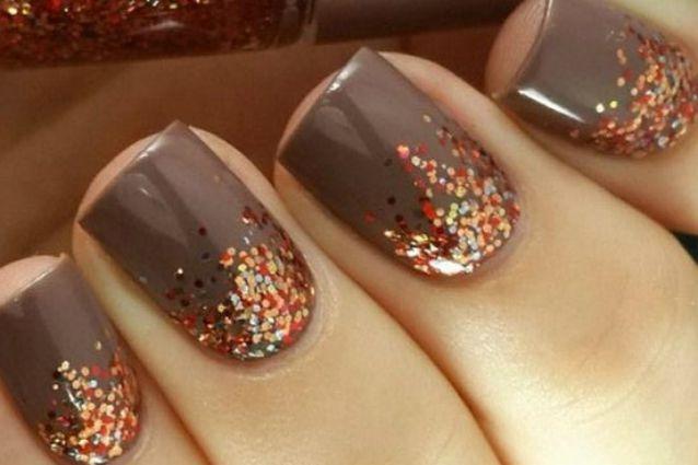 le unghie della settimana prova la nail art ispirata all autunno foto