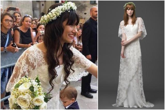 Musica Per Matrimonio Country Chic : Elisa sposa romantica e hippie ecco l abito del