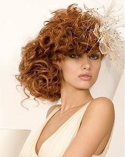 Tutorial capelli ricci corti raccolti