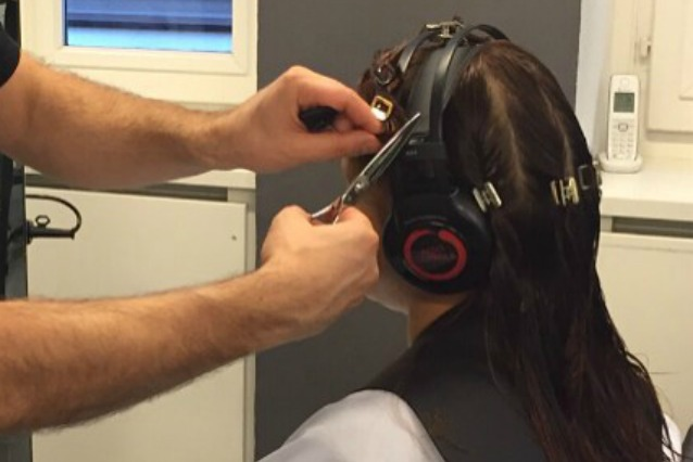 Taglio capelli ricci da asciutti