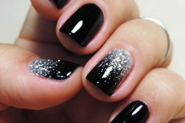 Ben noto Le unghie della settimana sparkling nails per la notte di  OP79