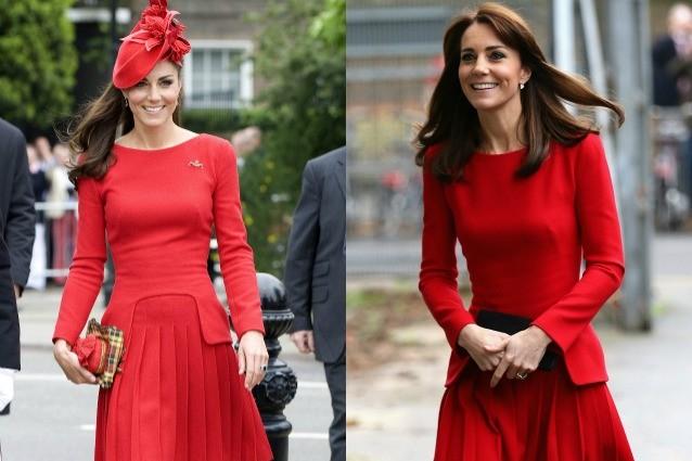 Kate Middleton ancora una volta regina del riciclo: ripropone lo stesso abito dopo 3 anni