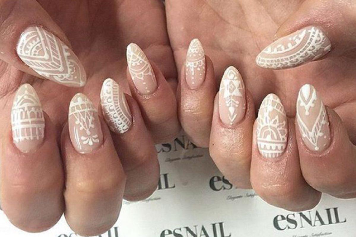 Le Unghie Della Settimana Henna Manicure La Nail Art Ispirata Ai