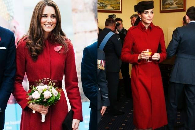 Kate Middleton e la passione per il riciclo: ripropone il suo cappottino preferito