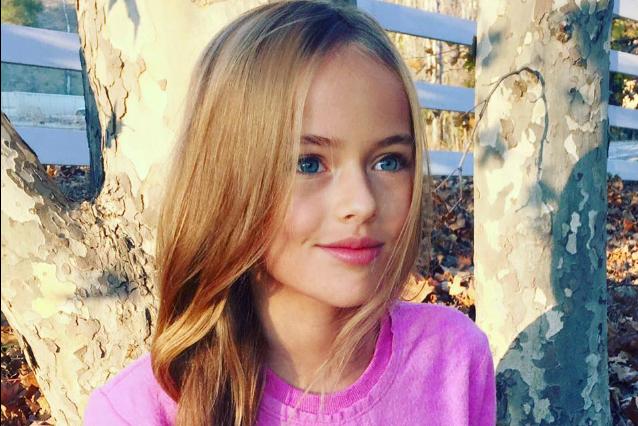 Kristina la bambina pi bella del mondo firma il suo primo contratto da modella - La casa piu bella al mondo ...