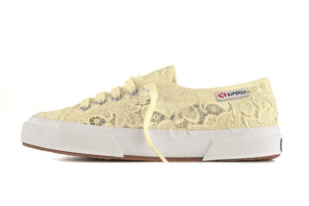 73e44a537f7 Sneakers in pizzo  ecco la nuova collezione di Superga (FOTO). 1.545. Le  scarpe Louboutin diventano un ologramma con la linea dedicata ...