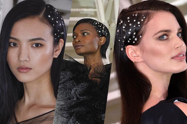 Cristalli tra i capelli il trend estivo che dona un tocco - Bagno di luce capelli ...