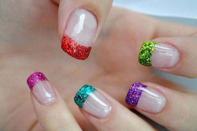 Ben noto Le unghie della settimana la french manicure colorata (FOTO) IW61