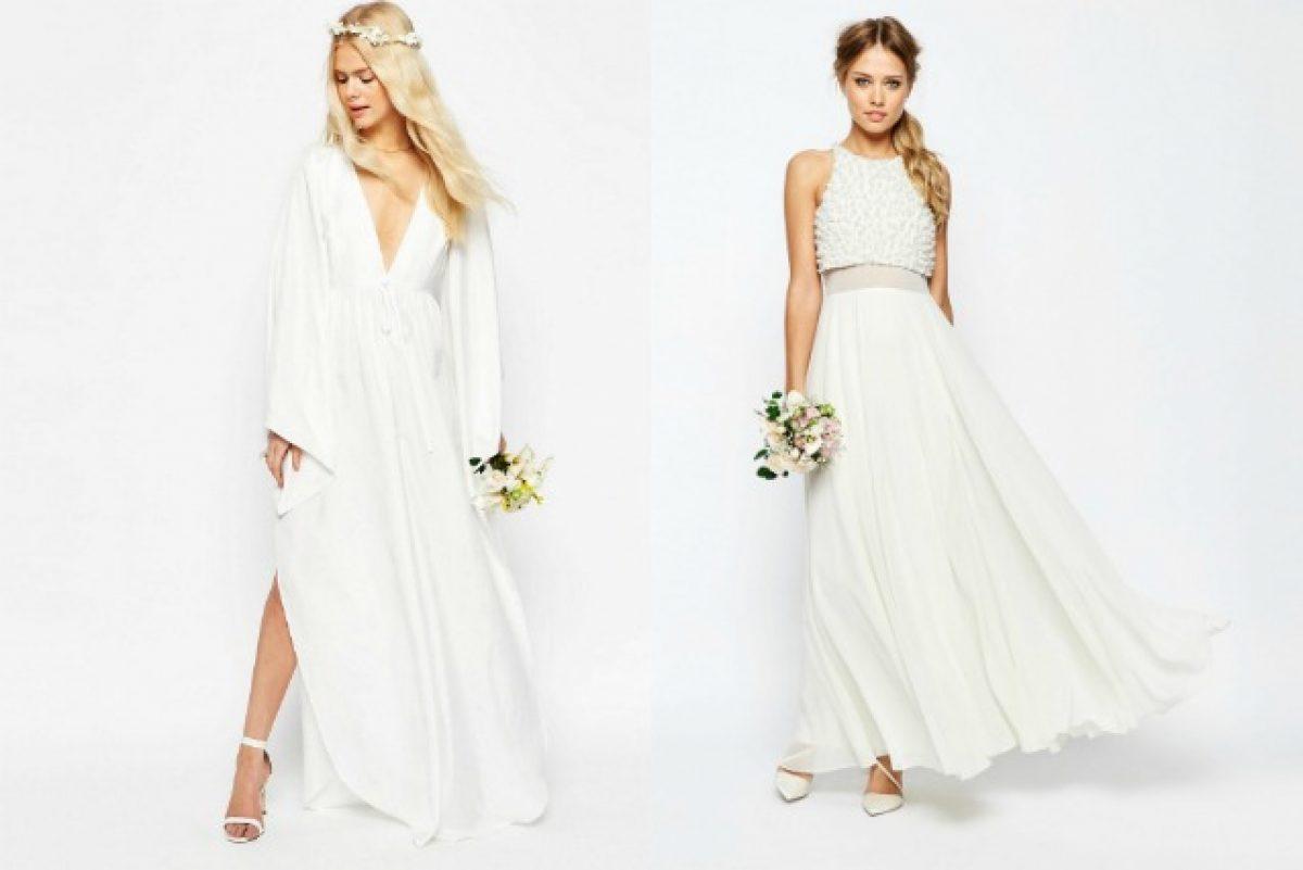 f21ae676ac34 L abito da sposa è low cost  i modelli per il matrimonio su Asos costano 90  euro