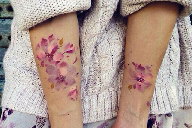 Watercolor Tattoo, ecco il trend dei tatuaggi acquerello (FOTO)