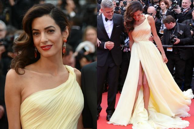 9c7941db711f Il premaman chic  Amal Clooney mostra come essere eleganti anche in ...