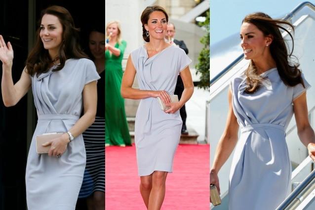 Kate Middleton lo fa ancora: ricicla lo stesso abito per la terza volta