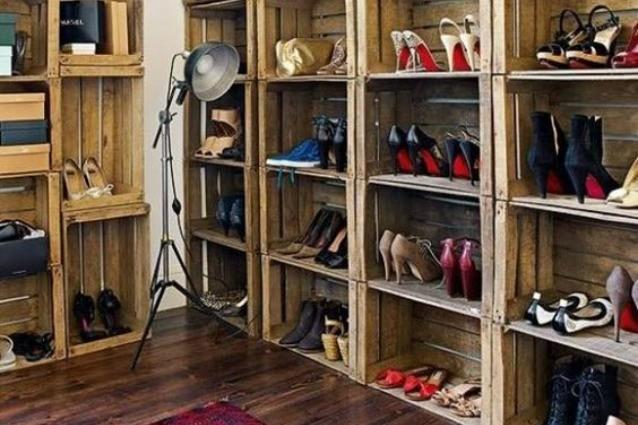 Come sistemare le scarpe in poco spazio 9 idee for Come sistemare la casa