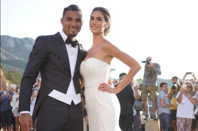 Fabuleux Il matrimonio di Melissa Satta e Kevin Boateng le foto del look di  OO26