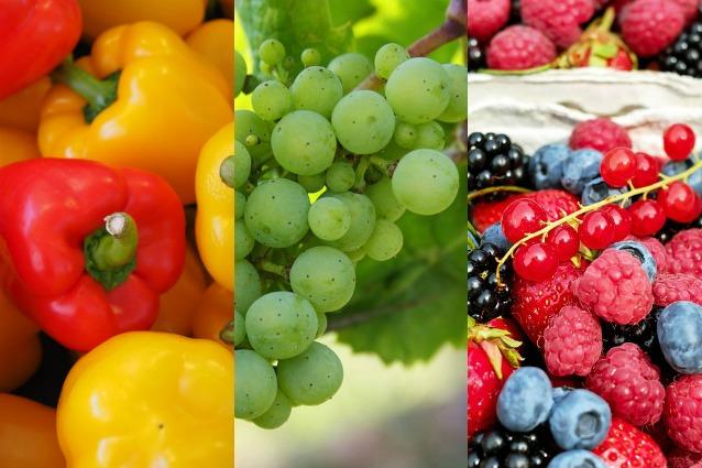 Frutta e verdura di stagione: la spesa di agosto