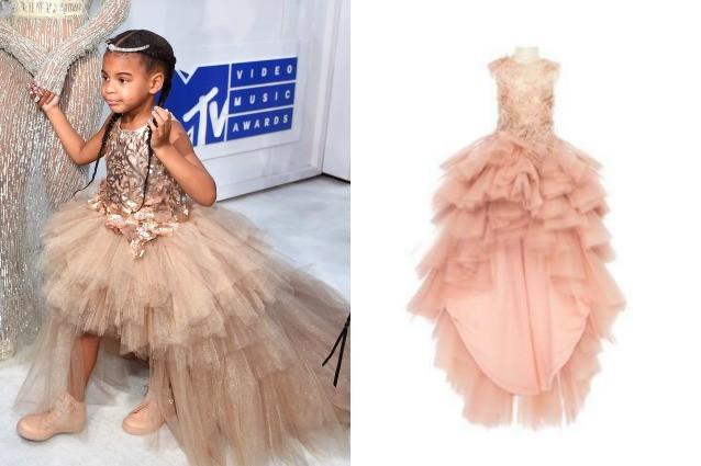 Il debutto di Blue Ivy sul red carpet: per lei Beyoncé sceglie un abito da 12mila dollari