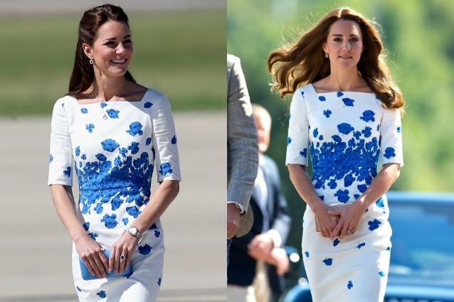Kate Middleton e la passione per il riciclo: indossa lo stesso abito a fiori di 2 anni fa