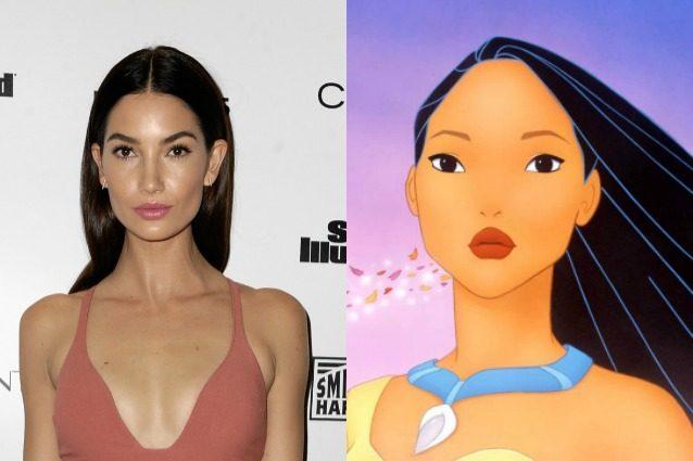A quali Principesse Disney somigliano le modelle?