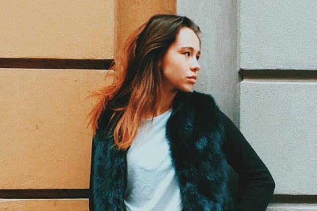 Aurora Ramazzotti e il balayage color rame: ecco il nuovo colore di capelli
